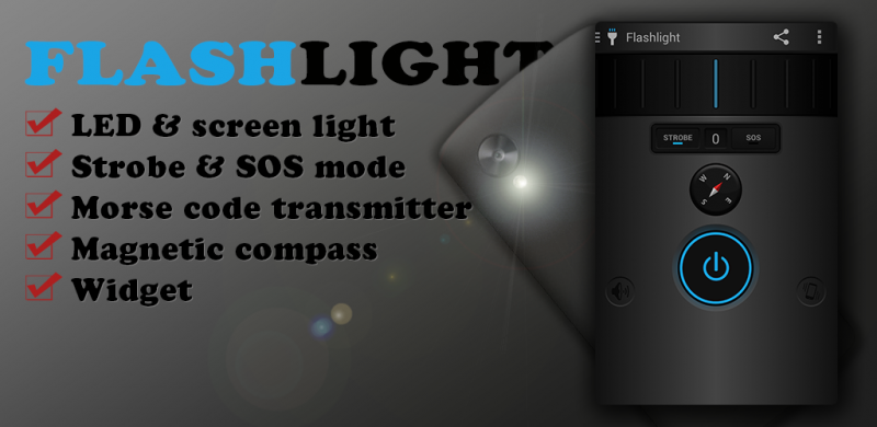 Multifunction LED Flashlight PRO features
