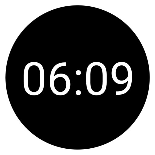 Ksana Sweep Ambient mode: 12-hour digital clock