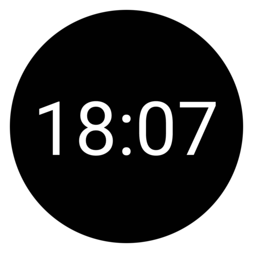 Ksana Sweep Ambient mode: 24-hour digital clock