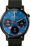 Curved layout & improved complications for Ksana Sweep Watch Face