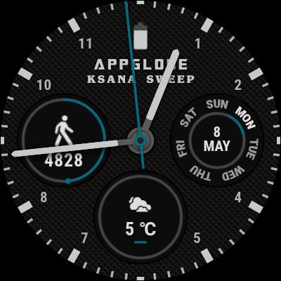 ksana sweep weather complication provided by google